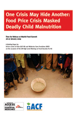 One crisis may hide another: Food price crises masked deadly childhood   nutrition