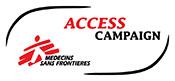 MSF Access Campaign logo