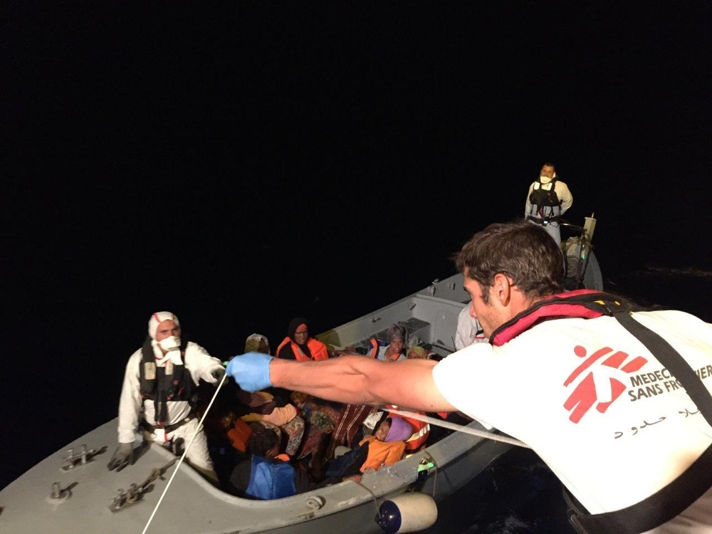 search and rescue msf resumes activities in central