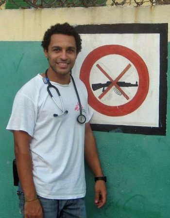 MSF doctor Javid Abdelmoneim on his second MSF mission to Haiti.
