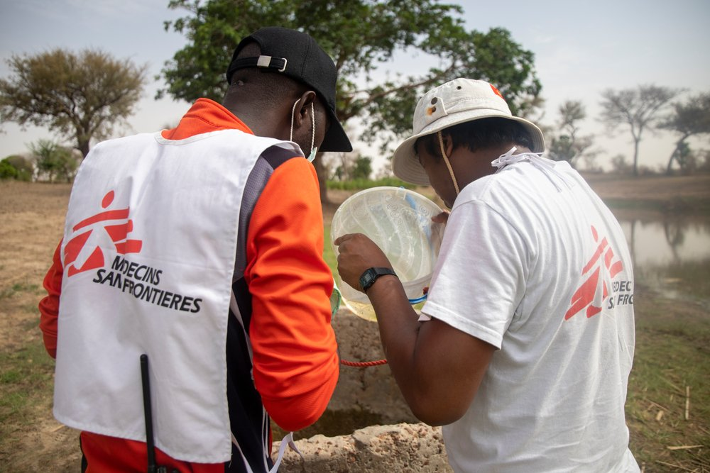Since June 2021, MSF launched water treatment activities in 15 villages in the commune of Bandé in Magaria, south of Niger, to prevent the development of the mosquito larvae into full grown mosquitoes aiming at decreasing the malaria cases.