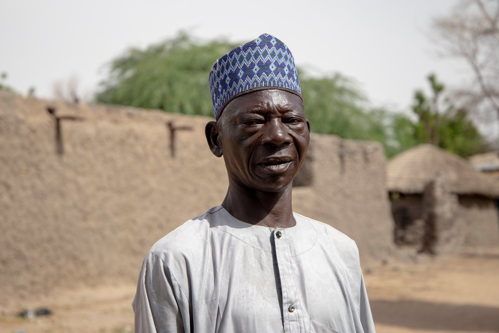 """""""Before the activities began, we were really worried that the product used will have a serious impact on our lives, our livestock and our environment. I am reassured to see that no problem has been caused so far,"""" Saïdou Moussa says."""