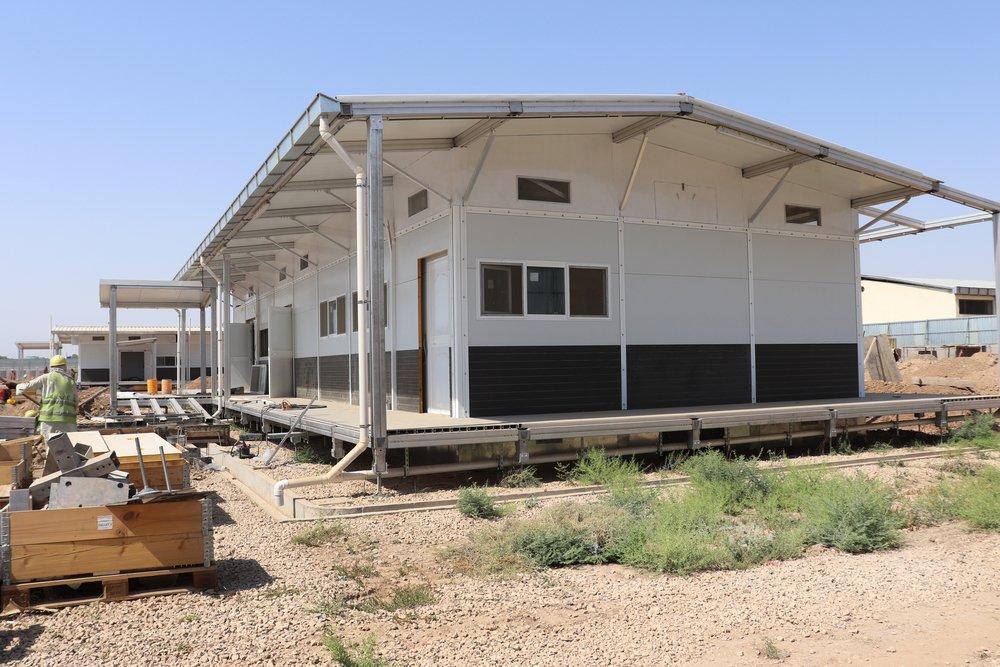 Gaptek laboratory structure for the new Kunduz hospital. 2019.