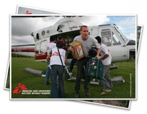 MSF fundraising resources photos