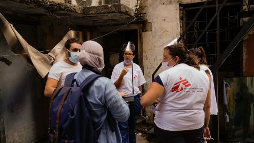 Three weeks after the massive explosion took place in Beirut, MSF is responding to the needs of the most vulnerable people along with those affected by the explosion.