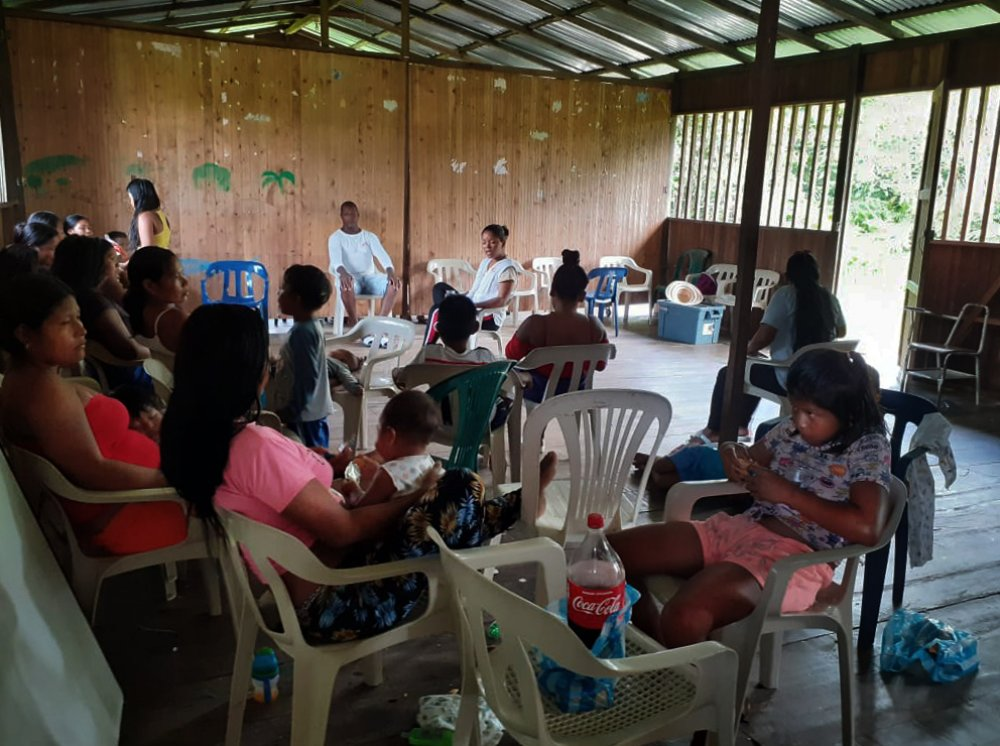 MSF teams had to intervene in the municipality of Olaya Herrera (Nariño, Colombia) to respond to the forced displacement of hundreds of people due to the resurgence of the armed conflict in the area