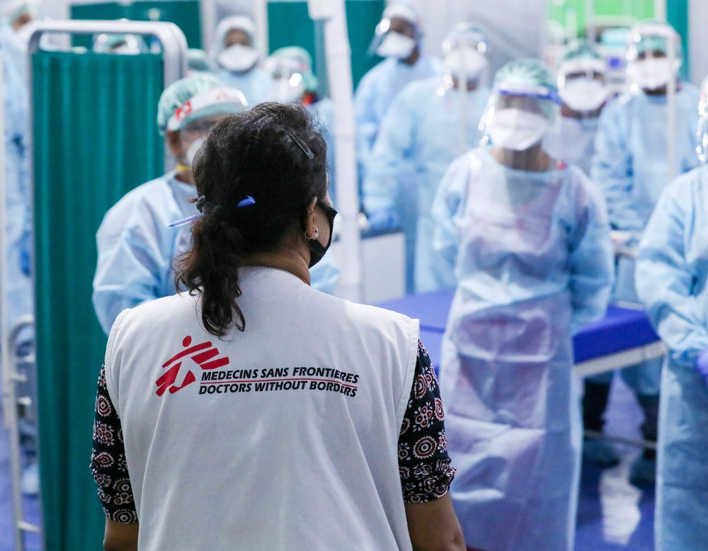 One of the main priorities for MSF is the safety of health workers, and that is why all the staff must follow strict protocols in terms of safety and security