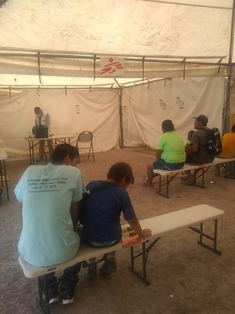 MSF has been in touch with immigration and health authorities to have a better understanding and plan of action to be prepared in case a COVID-19 patient is detected.