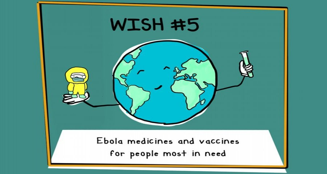 In 2020, we will work to ensure people at risk of Ebola get timely access to new medicines and vaccines - at affordable prices