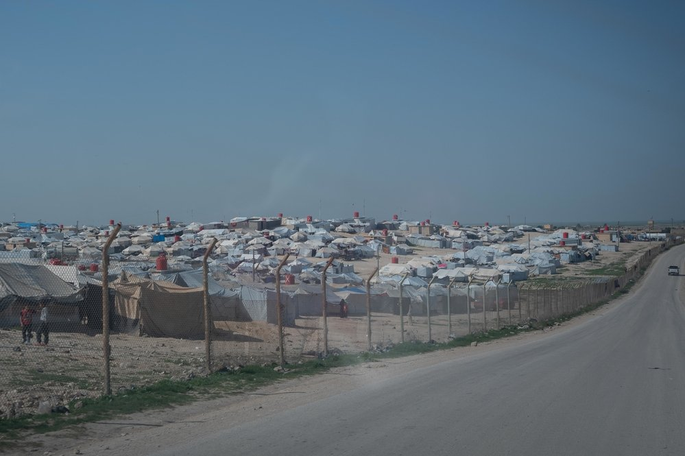 Al-Hol Camp, Eastern Al- Hasakah Governorate, Northeastern Syria.
