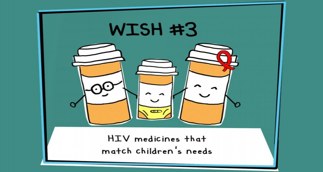 In 2020, we are calling for HIV medicines that match children's needs