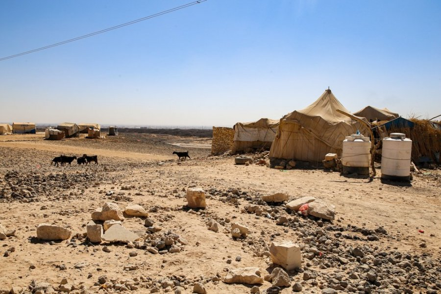 Al Sweida camp, to which MSF provides primary healthcare through its mobile clinic.