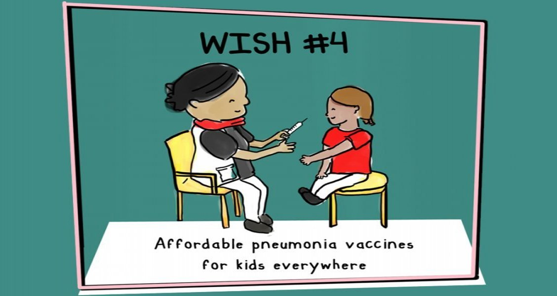 Life-saving pneumonia vaccines must be made available to kids everywhere