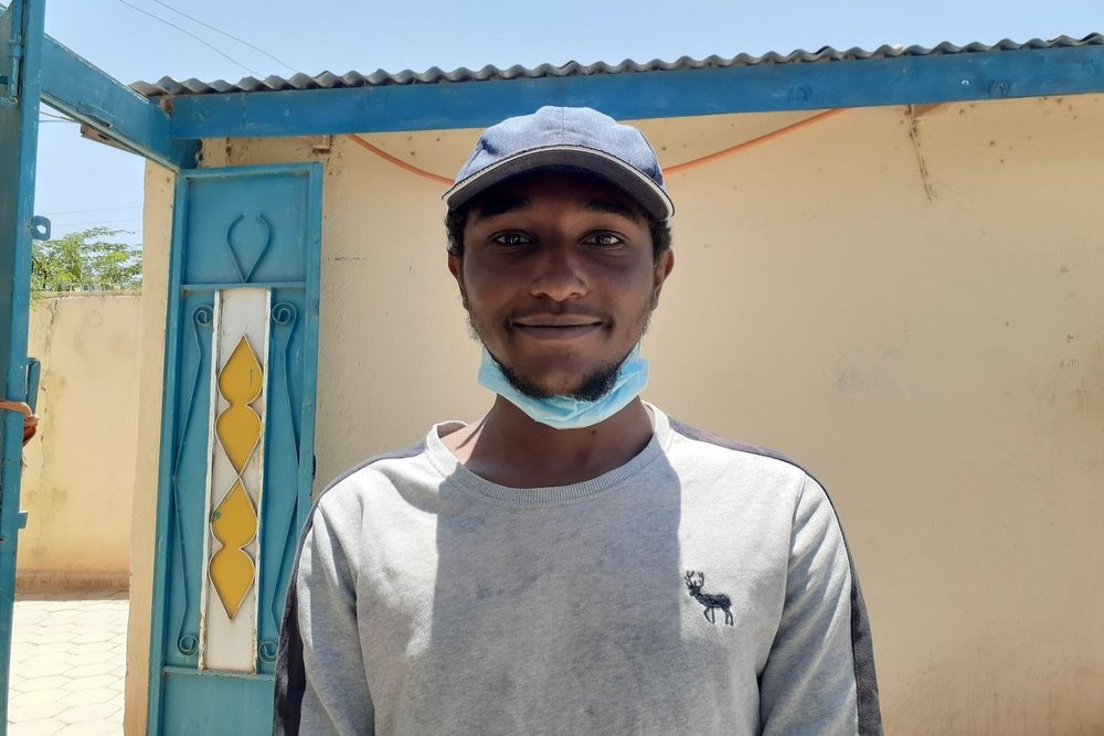 Sadiq Ibrahim Mohamed, one of the first patients in Hargeisa to take the oral nine-month treatment regimen for DR-TB shared his story to encourage other patients to seek treatment.