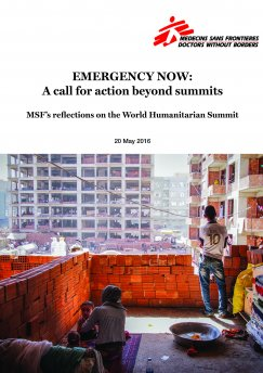 Emergency now report cover