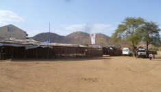 MSF's hospital in Farandallah