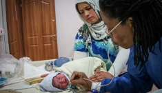 Maternity unit in Domeez Camp, Iraq