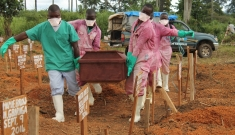 Liberia - Ebola management center in Foya
