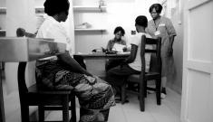 Bangui, General Hospital, VVS