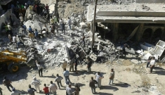 Mass-casualty influx northern Syria