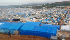Cluster Camps in Atmeh, Idlib Governorate