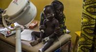 MSF in Poua hospital
