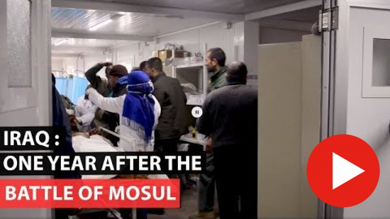 Embedded thumbnail for Iraq: One year after the battle of Mosul