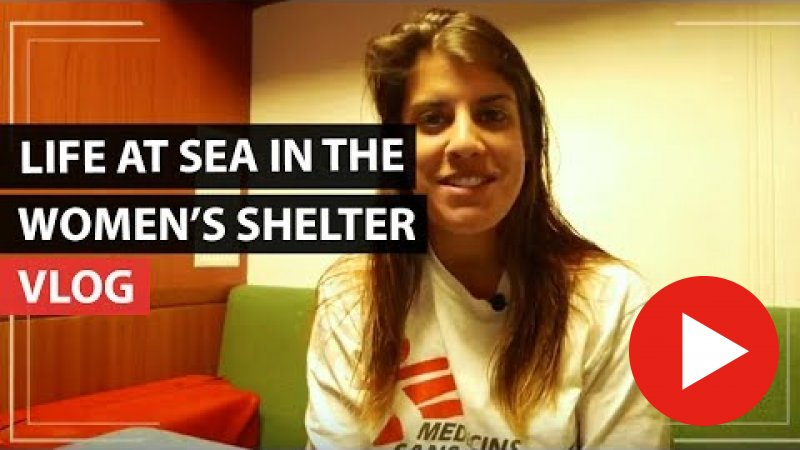 Embedded thumbnail for Vlog | Becoming the only midwife onboard our search and rescue ship